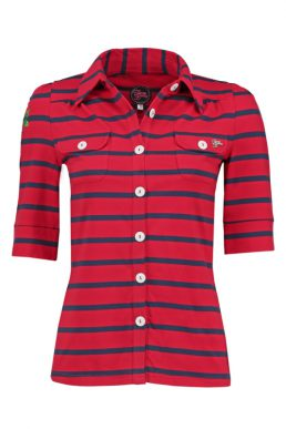 Tante Betsy blouse stripe red/blue