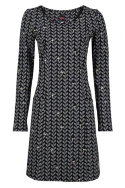 TANTE BETSY DRESS BESSIE PIEPER BLACK