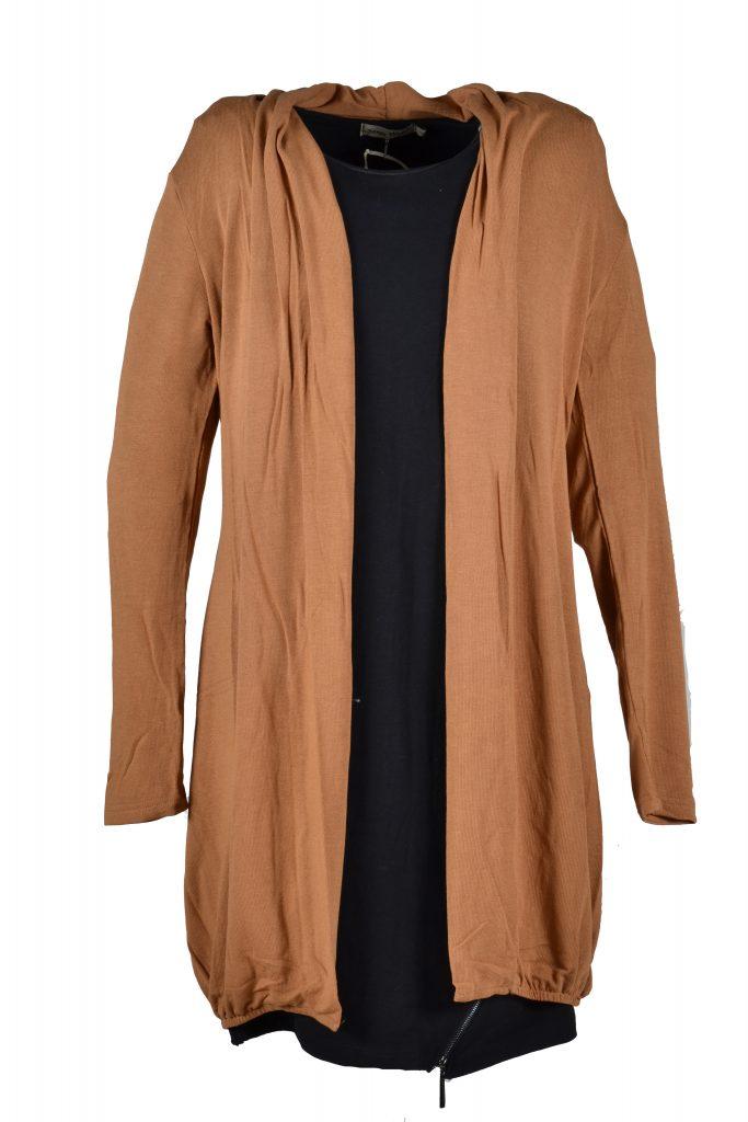 angelle milan camel vest voorkant
