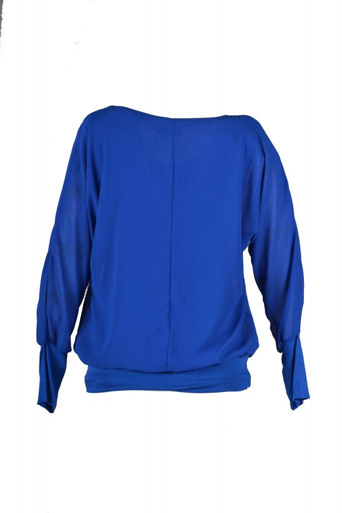 sensi wear top achterkant blauw