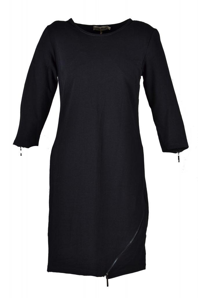 sensi wear zwart met rits voorkant