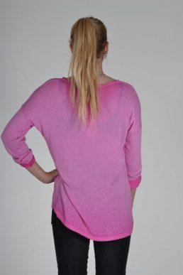 Sensi Wear top Sarcastic roze