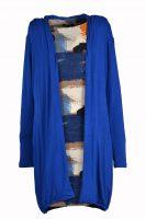 kobalt vest voorkant