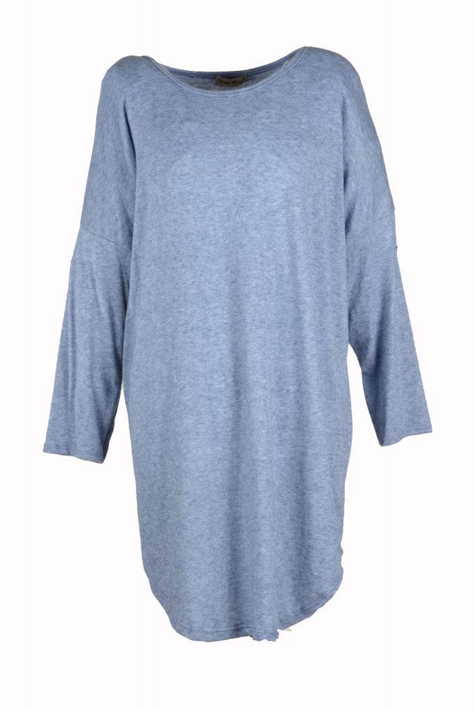 sensi wear trui licht blauw voorkant