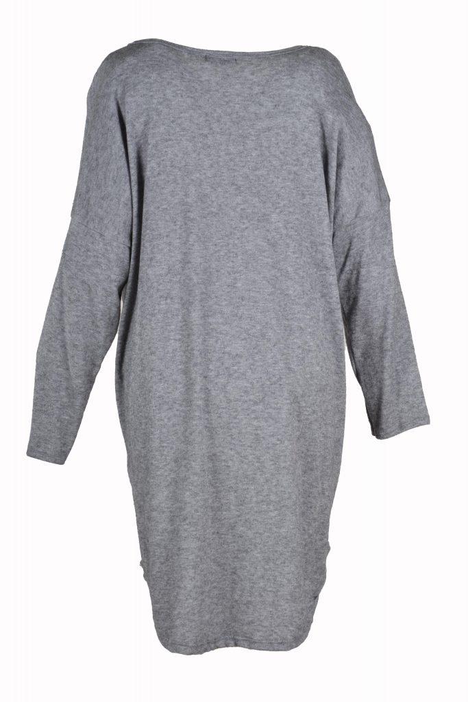 sensi wear trui licht grijs achterkant