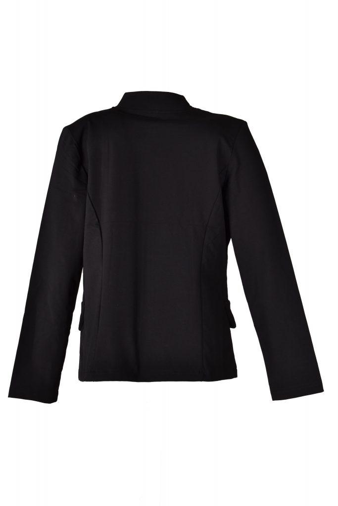 Angelle milan jasje zwart egaal achterkant