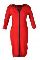 Blueberry jurk rood streep