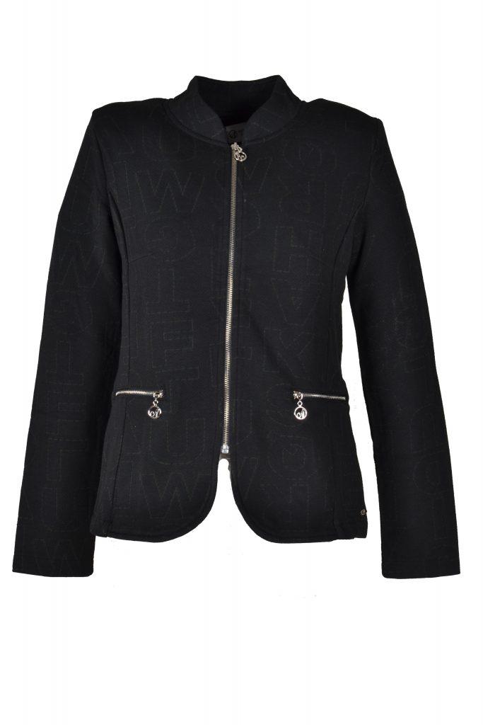 Angelle Milan jasje zwart met letters