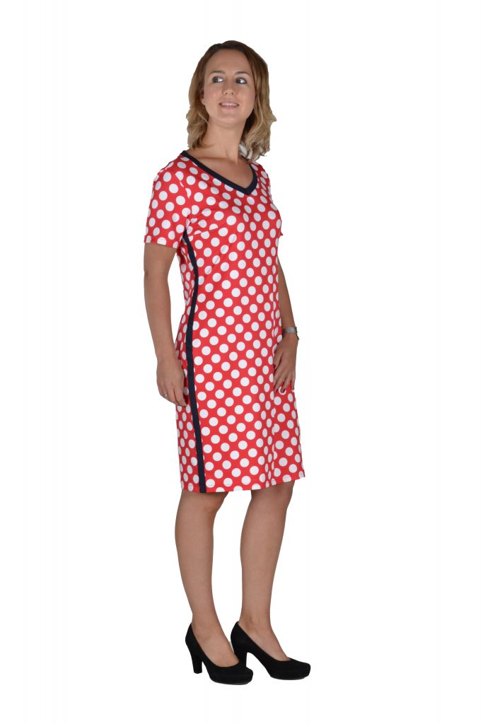 stippen jurk