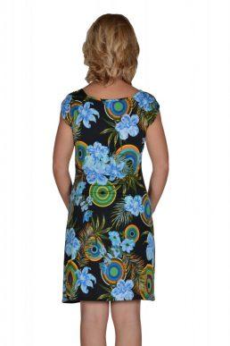 Esperance jurk cirkels en bloemen