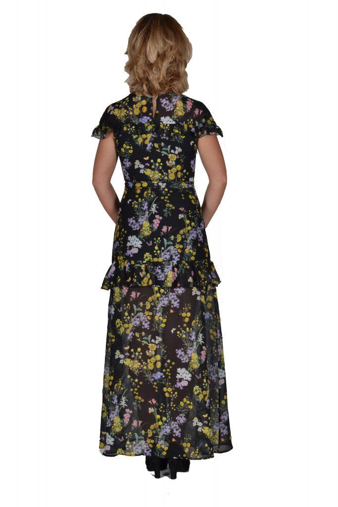 817e0004ea4518 ... 101 Idees jurk lang bloemenprint