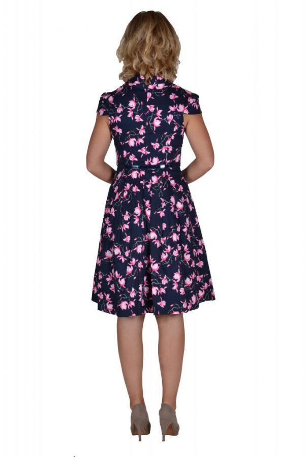 Stella jurk magnolia achter