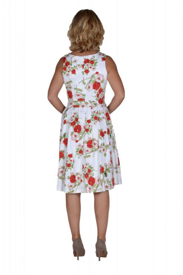 Stella jurk petunia achter