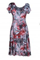 Stella Moretti jurk barok achter