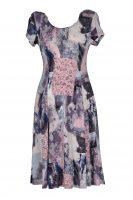 Stella Moretti jurk patchwork