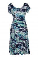 Stella Moretti jurk aqua