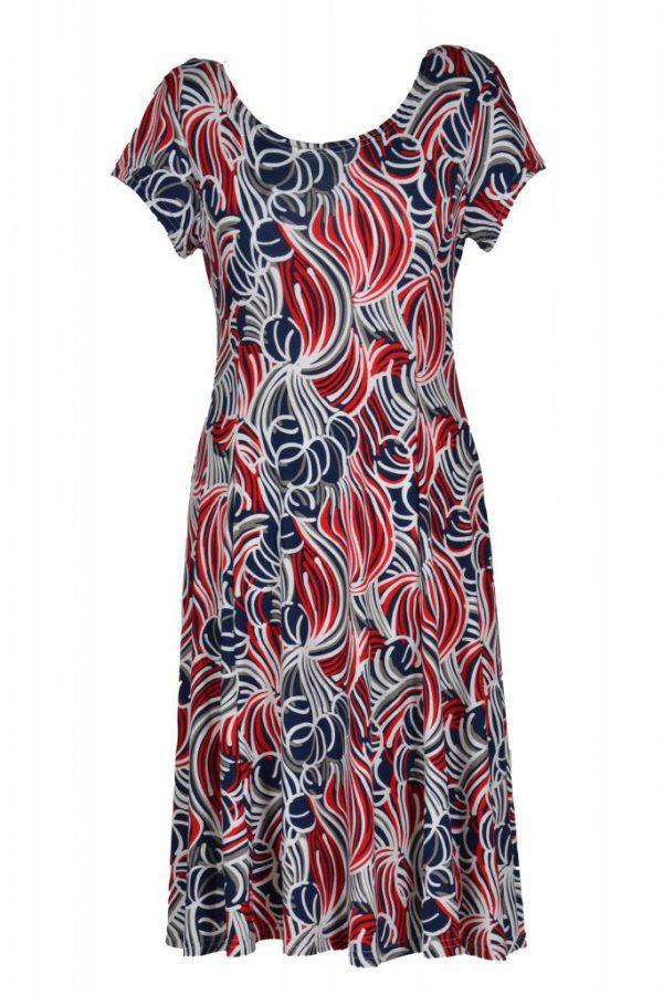 Stella Moretti jurk abstracte bloem