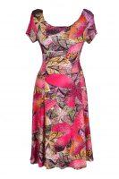 Debbie Morgan  jurk grote roze bloem