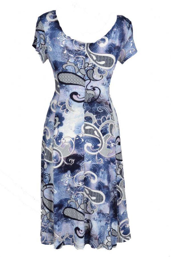 Stella Moretti jurk heelal achter