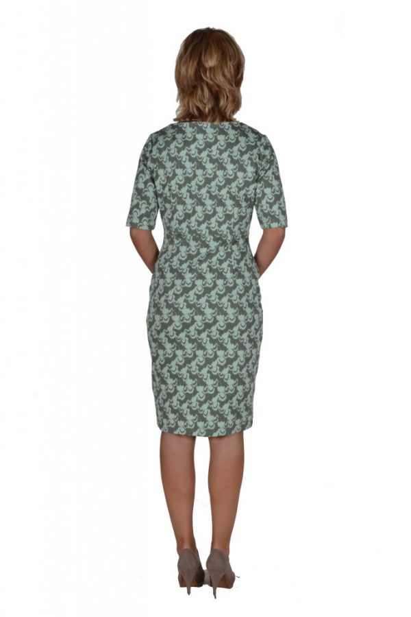 Le Pep repeat dress ginko leaf