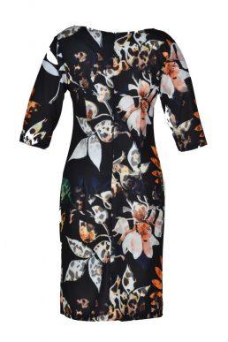 Realize jurk divers gekleurd blad achter