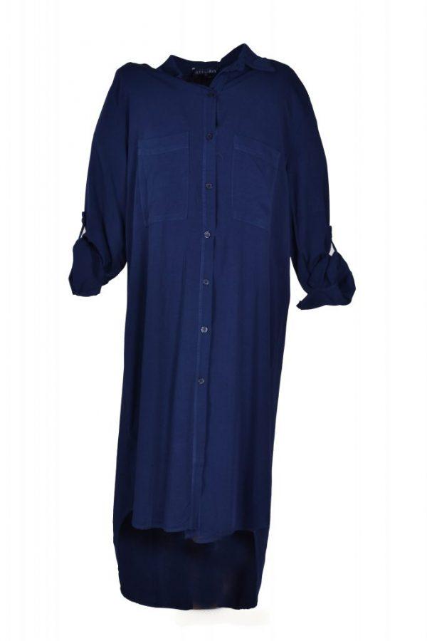 Blueberry blouse lang marine