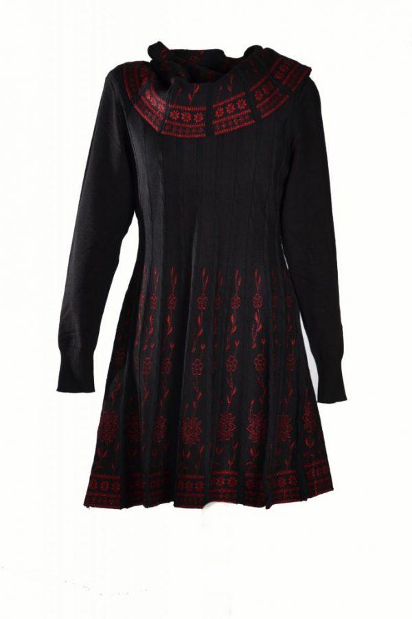 Invisible zwart rood met