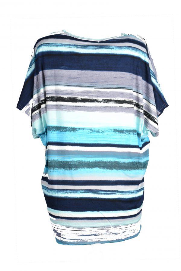 Foglie Rosse shirt blauw achter