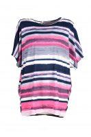 Foglie Rosse shirt roze voor