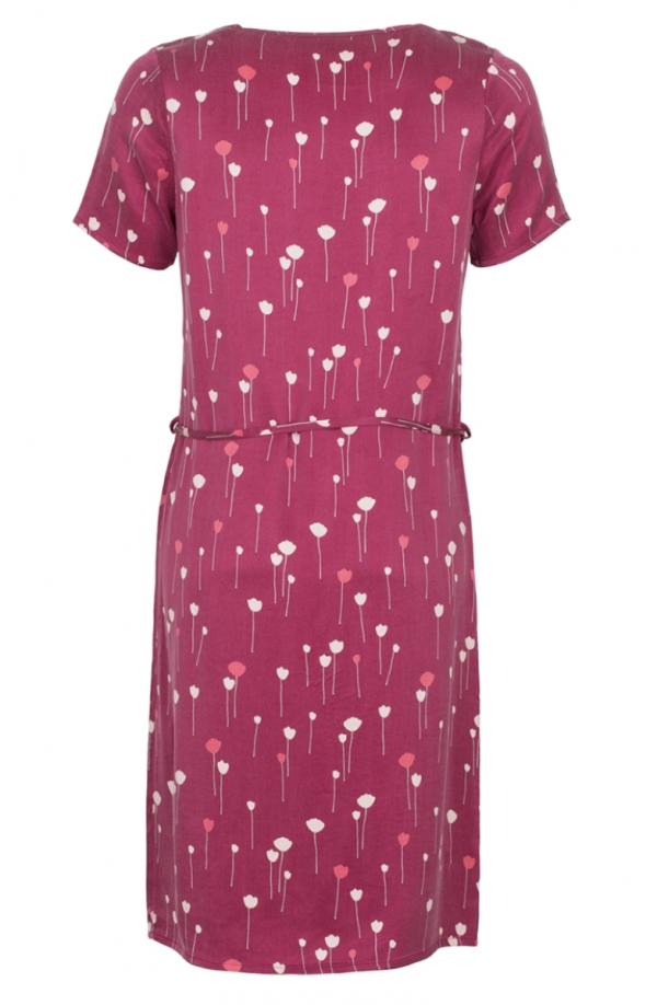 Le Pep dress Allison Fuchsia achter