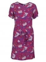 Le Pep dress Amily Sangria Flower voor