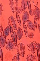 Sensi Wear blad rood patroon