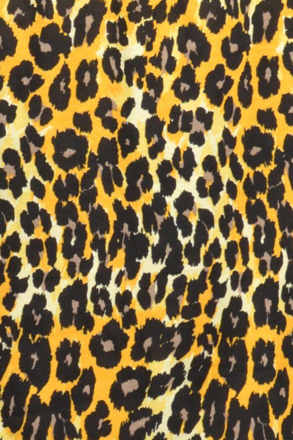Sensi Wear panter overslag geel patroon