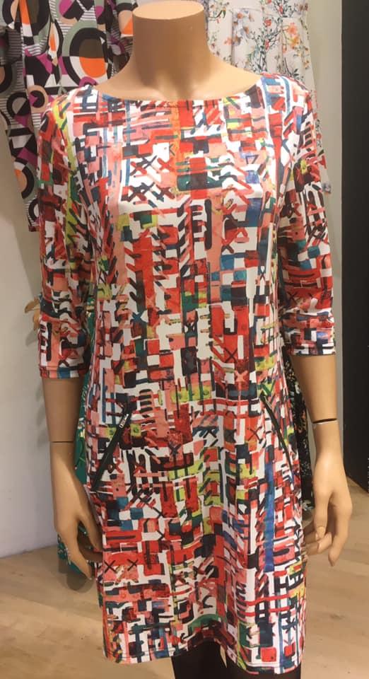 Vegas jurk hiërogliefen