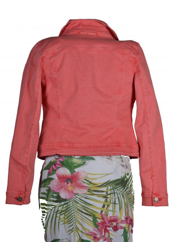 Nina Carter jasje roze achter
