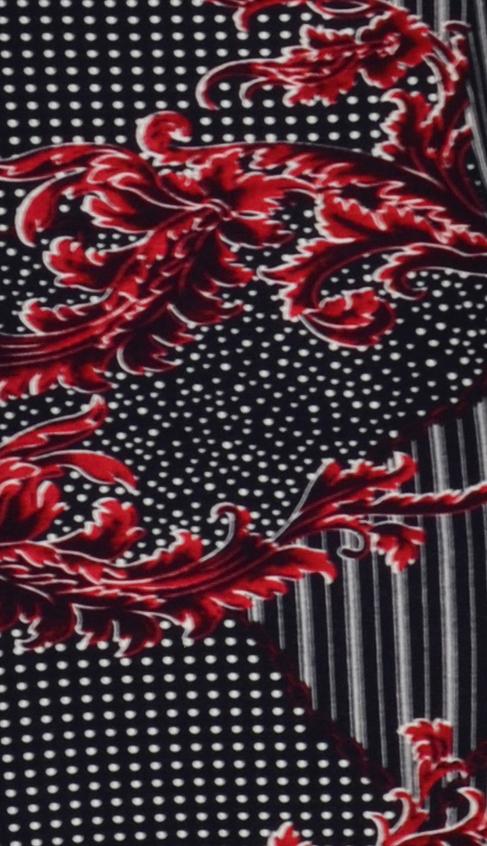 Papillon jurk bladerentak patroon