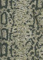 People Repubic jasje snake groen patroon
