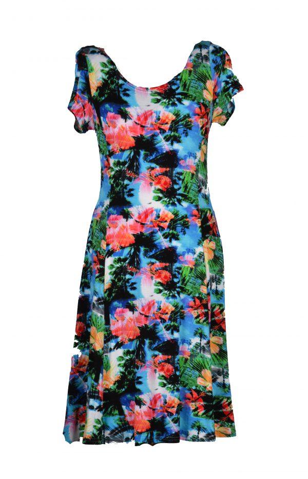 Stella Moretti jurk eilandjes voor