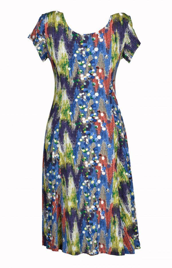 Exclusive jurk Kleurpalet achter