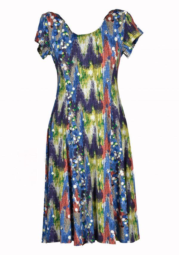 Exclusive jurk kleurenpallet