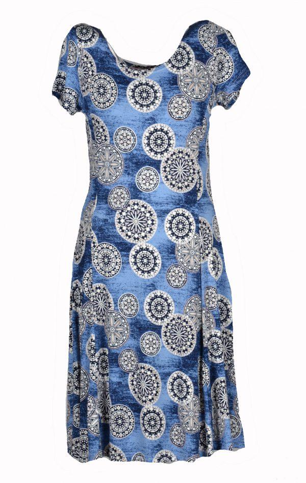 Stella Moretti jurk Bewerkte Cirkels