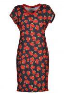Stella Moretti jurk Rode Roos