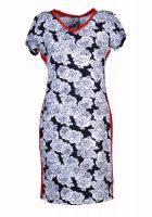Stella Moretti jurk rozen wit
