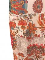 101 Idees jurk lang Gebloemde Rondjes detail