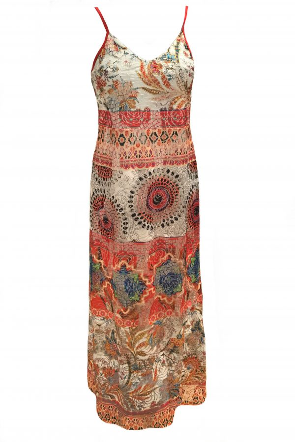 101 Idees jurk lang Rozen