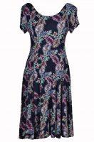 Papillon jurk Gekleurde Varenblad