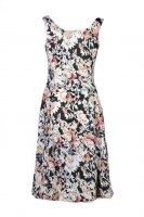 Stella Moretti jurk Protea achter
