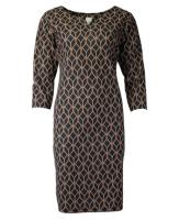 FOS jurk Druppel Zwart