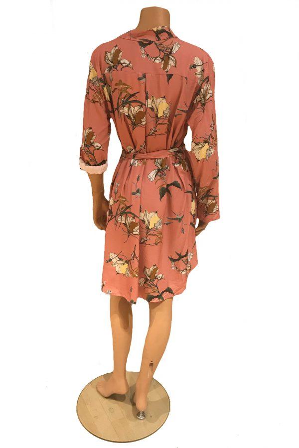 Sensi Wear blouse tuniek Oudroze achter