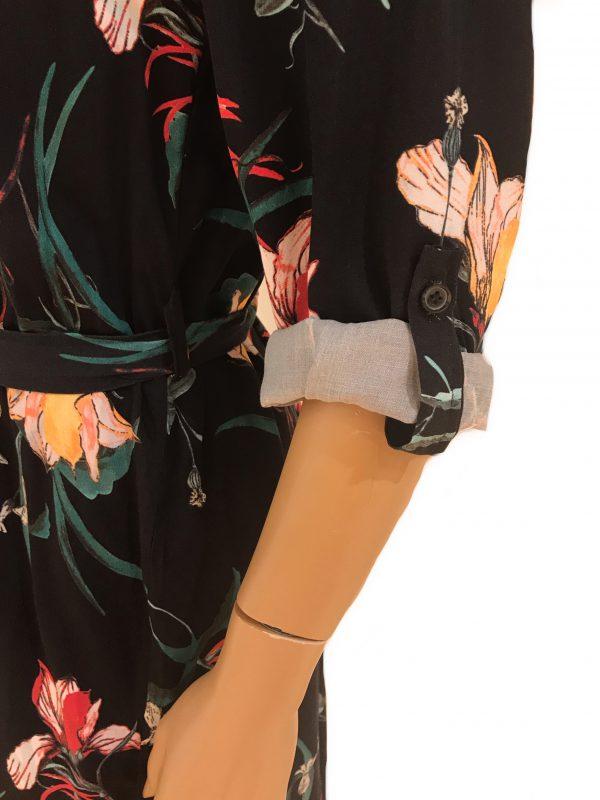 Sensi Wear blouse tuniek Zwart detail